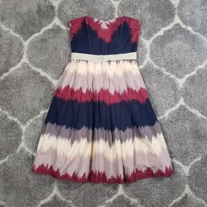 Anthropologie Corey Lynn Calter Color Dipped Dress